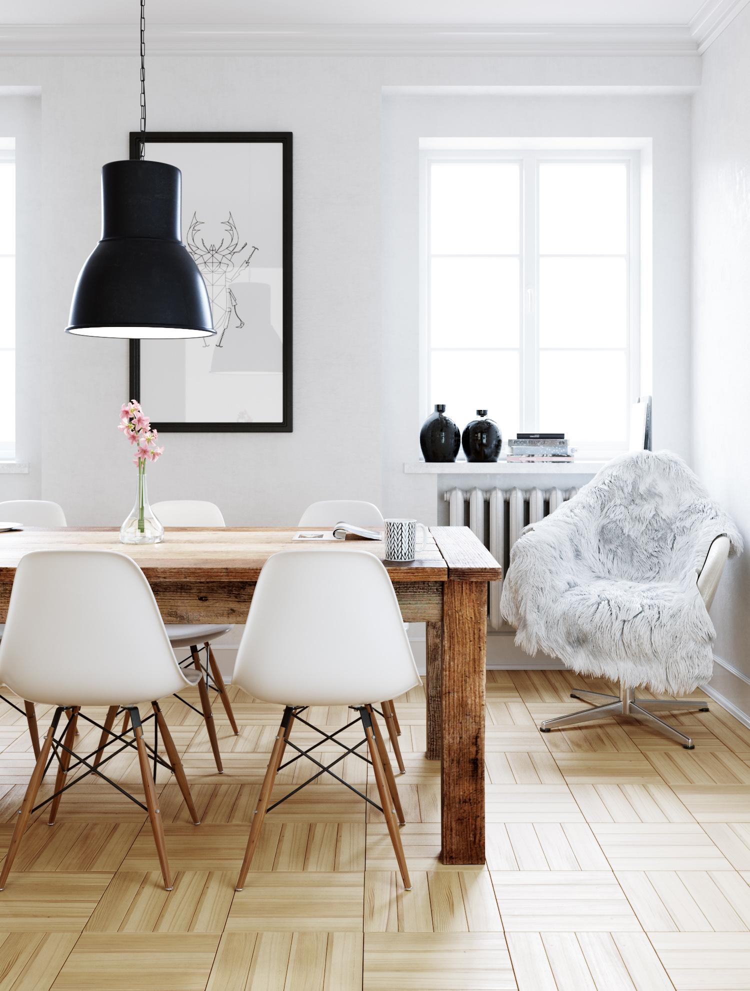Pokój w stylu skandynawskim 2